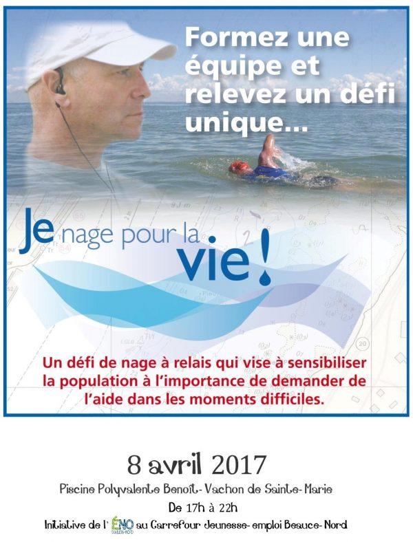 Je nage pour la Vie 2017