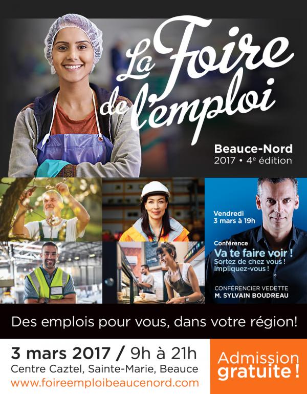 La Foire de l'emploi Beauce-Nord, un incontournable pour les chercheurs d'emploi